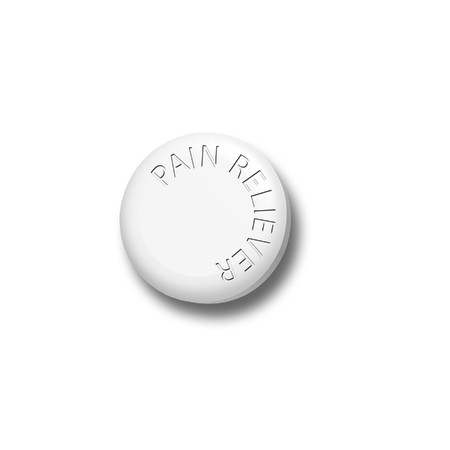 reliever: Pain Reliever Tablet Stock Photo