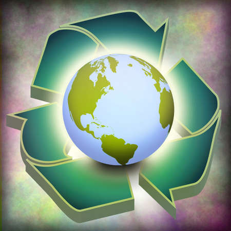 Earth Recycle Stock Photo - 7574068