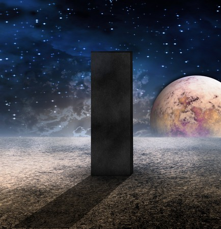 Monolith on Lifeless Planet photo