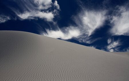 White Sands New Mexico USA Stock Photo - 7870289