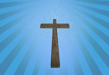 rightness: Cross Stock Photo