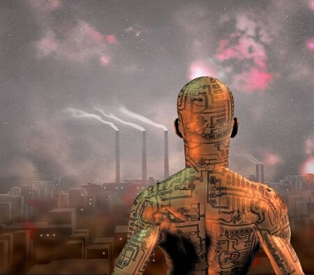 sci: Ciudad de mugre de alta resoluci�n