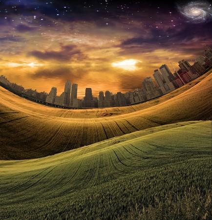 landscape: City Landscape