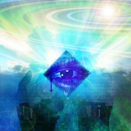 energia espiritual: Misterio alta resoluci�n