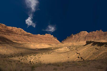 High Resolution Desert Landscape photo