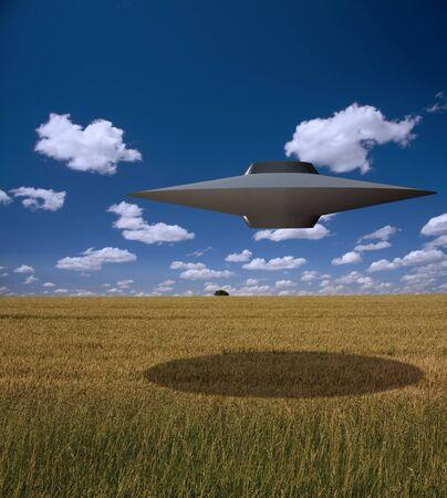 Hoge resolutie Alien Craft
