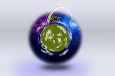 Green Planet Stock Photo - 7999549