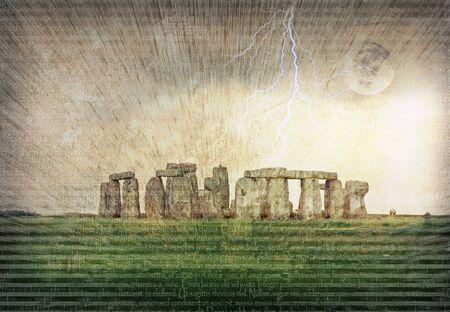 Stonehenge Stock fotó - 7999578