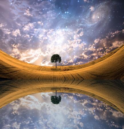 Surreal Lakescape photo