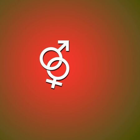 Male and Female Symbols Stock Photo - 8057929