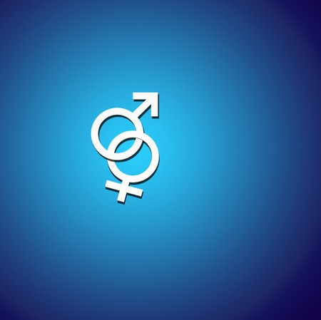 Male and Female Symbols Stock Photo - 8206572