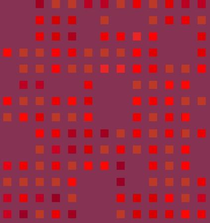 Red Pattern photo