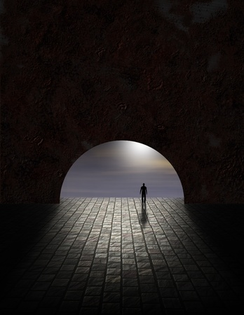 Mistero uomo nel Tunnel