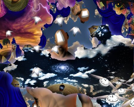 Dreamers mind revealed in this scene photo