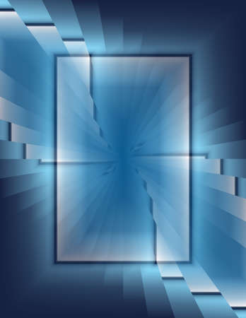 High Resolution Abstract of many shapes Stock Photo - 8716554