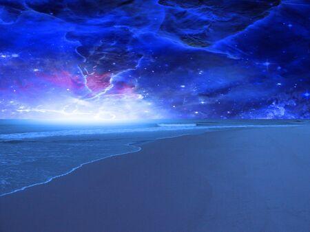 Surreal Sea Stock Photo - 8836815