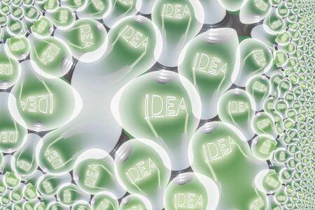 Idea Bulb Abstract Stock Photo - 8836722