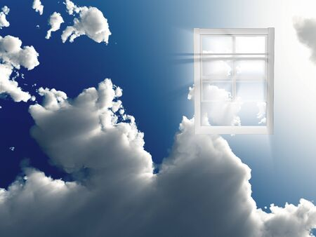Window in sky Stock Photo - 8836721