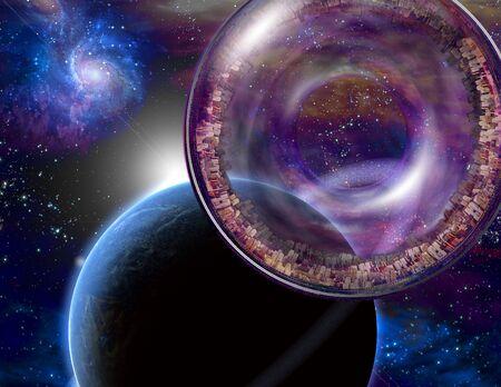 interstellar: Multigenerational Interstellar City Ship