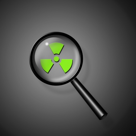 radioisotope: Nuclear Investigate Stock Photo