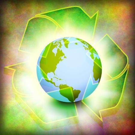 mundo contaminado: Reciclar