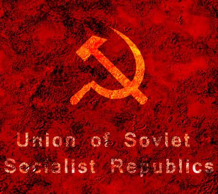 URSS Grunge Banque d'images - 9222968