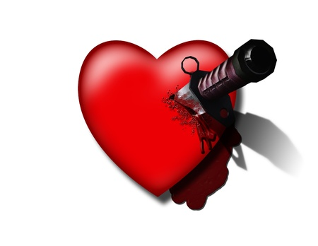 Corazón apuñalada