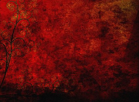 Abstract Red Stock Photo - 9351519