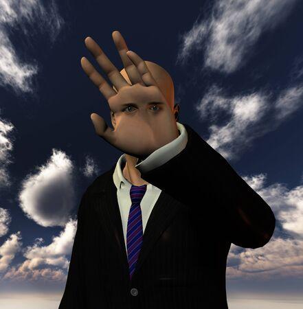 Hombre surrealista