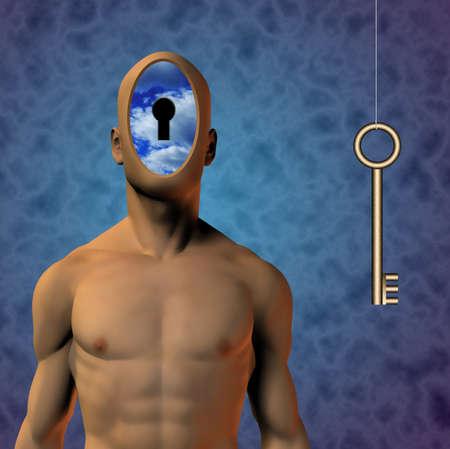 Human Key photo