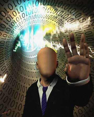 Computer Security Stock Photo