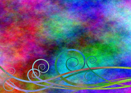 grunge banner: abstract Stock Photo