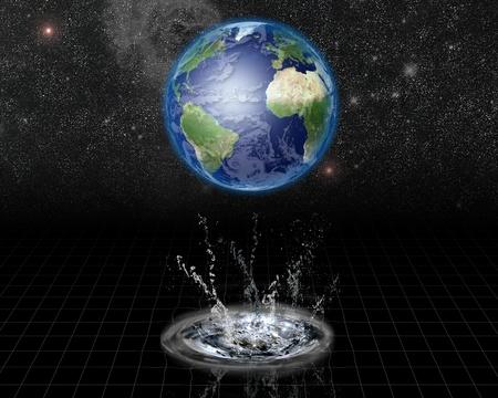 Earth Water Emerge photo