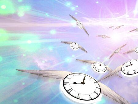 mouche: Temps de vol