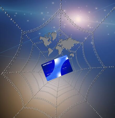 Credit card caught in web photo
