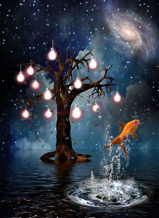 spiritual energy: Idea Tree