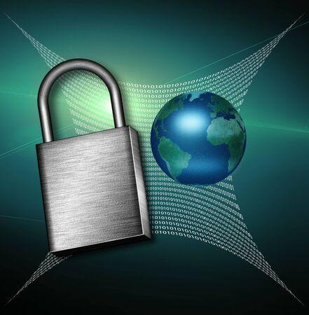 Secure Web Stock Photo - 9772475