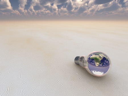 Earth Bulb Stock Photo - 10056255