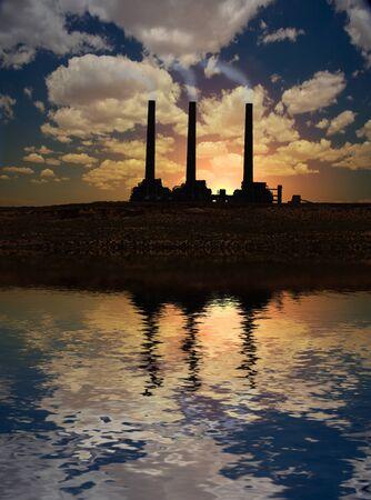 contaminaci�n de aire: F�brica