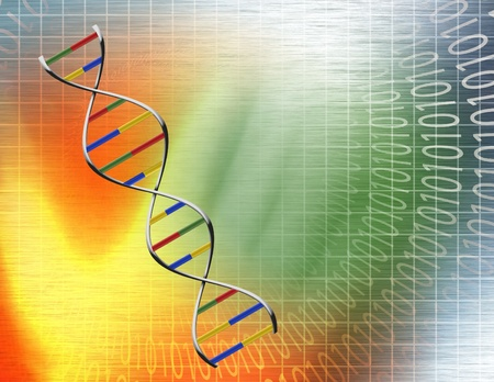 Data DNA Stock Photo - 10056270