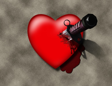 Stabbed Heart photo