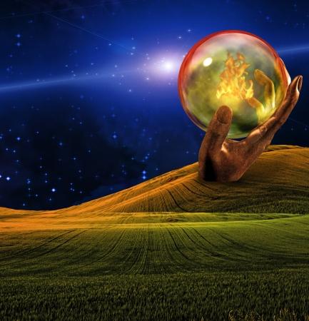 sci: Strange Landscape