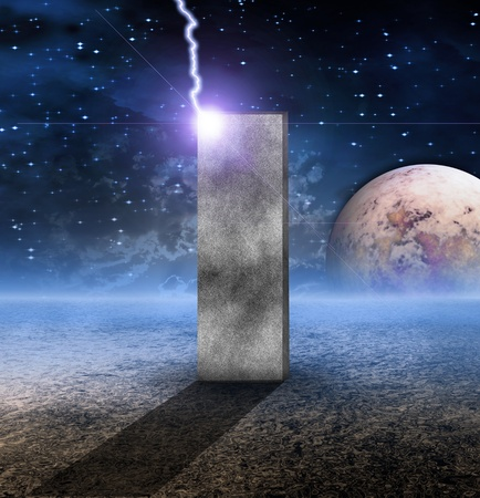 monolith: Monolith on Lifeless Planet