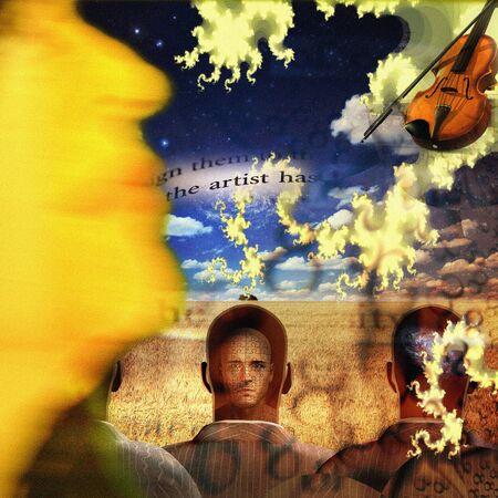 Musical Abstract Reklamní fotografie