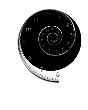 spiral for clock photo