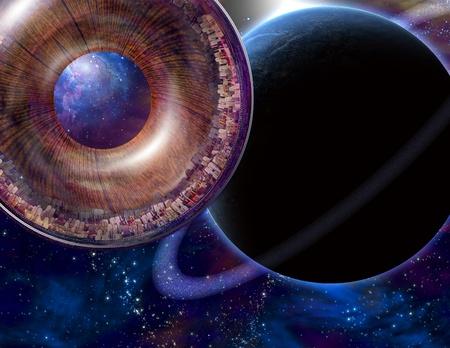 trek: Multigenerational Interstellar City Ship