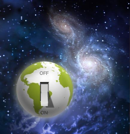 地球を切り替える