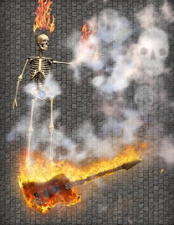 Guitar Fire  photo