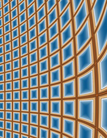 grid: Grid and Window Abstract Background