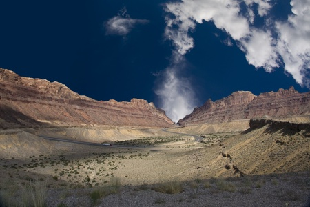 navajo land: Desert Valley